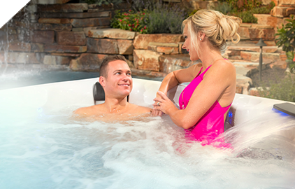 Entertaining in a Clarity Spas has never been easier.