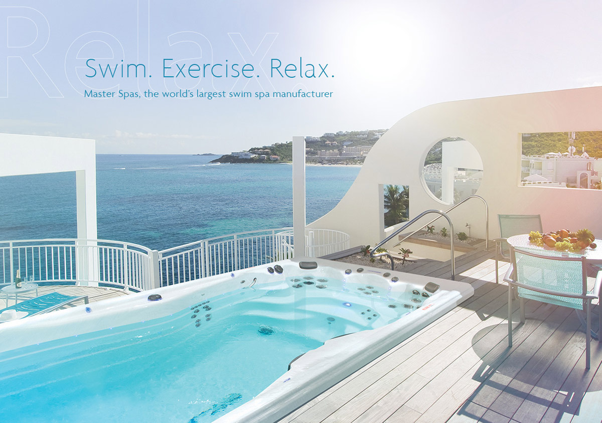 Swim. Exercise. Relax. Master Spas, the world's largest swim spa manufacturer.
